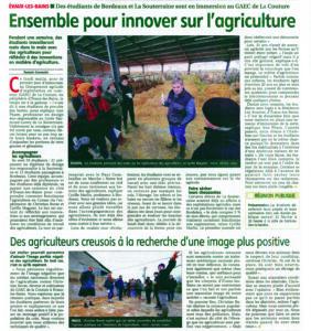 Ensemble pour innover sur l'agriculture