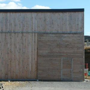 Hangar municipal avec production photovoltaïque à Guéret