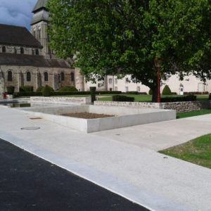 Place Aubergier à Chambon-sur-Voueize